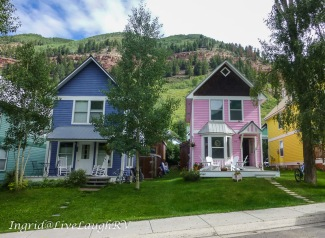 Victorian architecture, historical houses in Telluride, Colorado, #Victorian houses in Telluride, #Colorado architecture