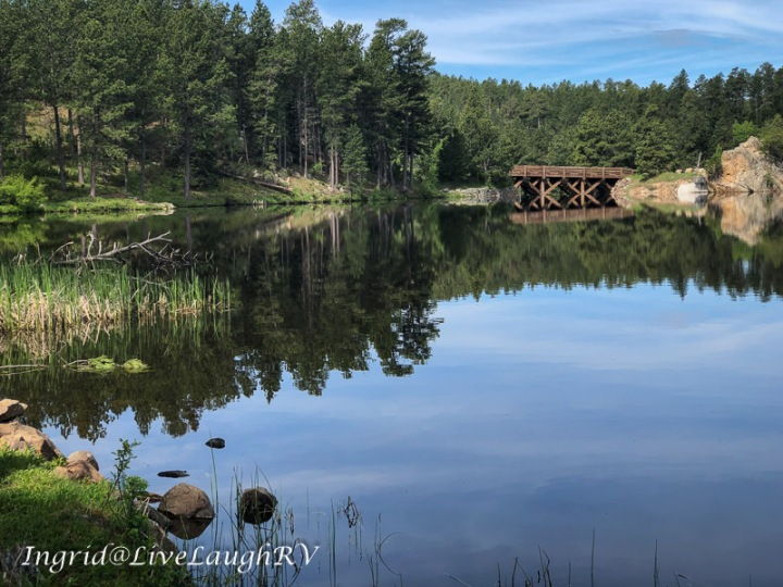 Reflective Stockade Lake, Black Hills, South Dakota
