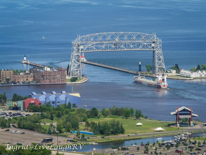 canal park, Duluth, Minnesota, Aerial Lift Bridge