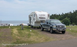 Burlington Bay Campground, Two Harbors, MN. Site #2B