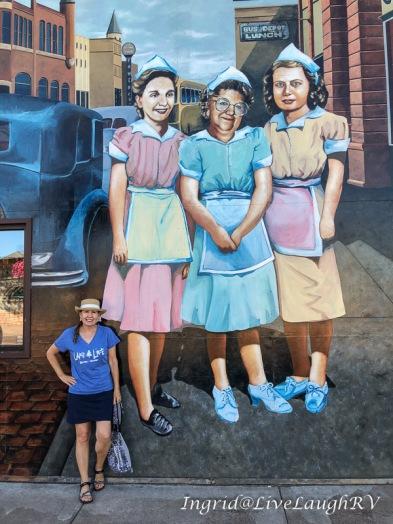 Waitress Mural