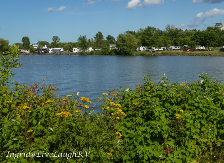 Kreher Park Campground in Ashland Wisconsin