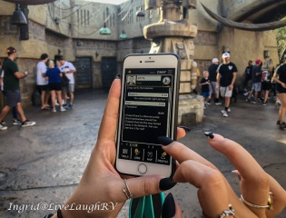 disney play app at Star Wars Galaxy's Edge