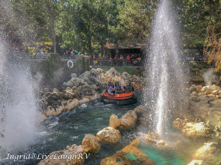 Grizzly River Run Disneyland California