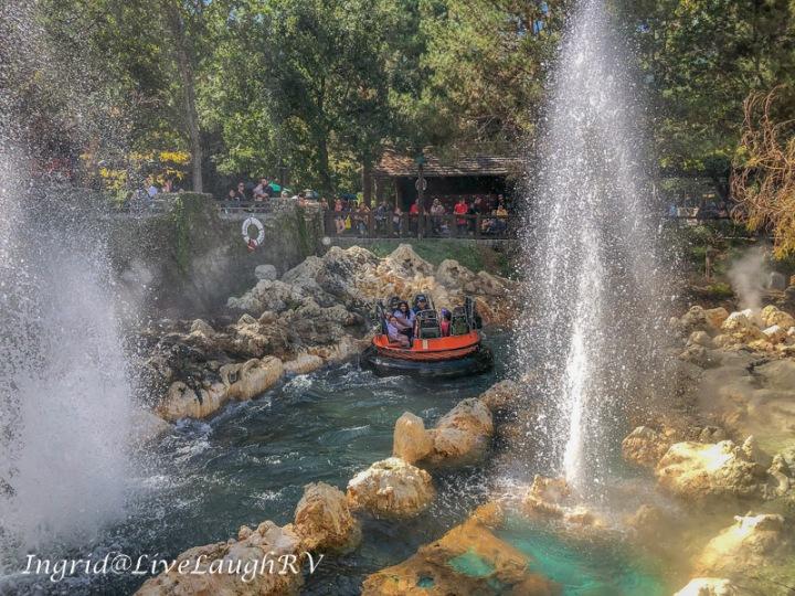 Grizzly River Run Disneyland California