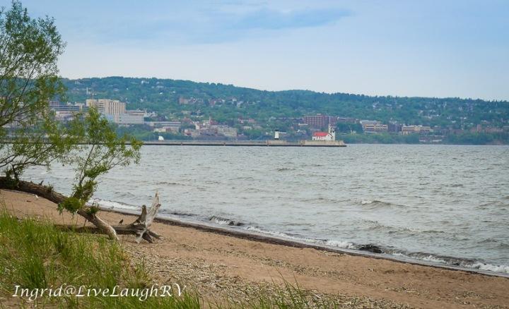 Minnesota Point, Park Point, Largest freshwater sandbar, Duluth